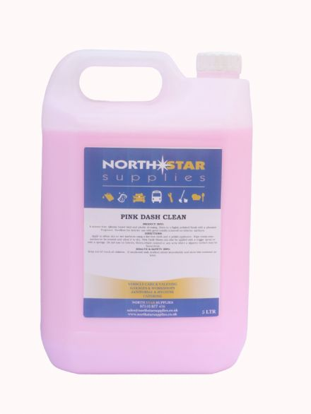 Pink Dash Sheen - Fragranced Dashboard Cleaner - North Star Supplies